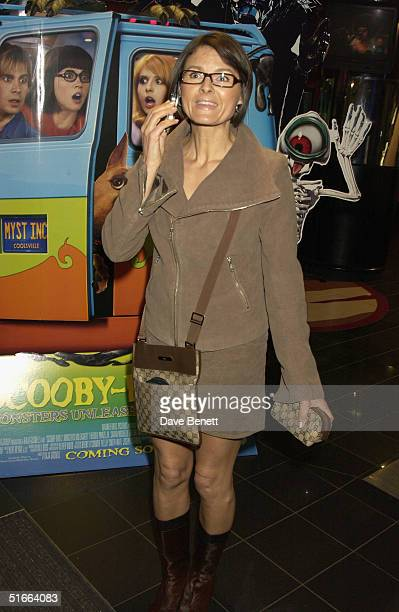 Karron Eubank at the UK premiere of 'ScoobyDoo 2 Monsters Unleashed' at Vue Islington on 26th March 2004 in London
