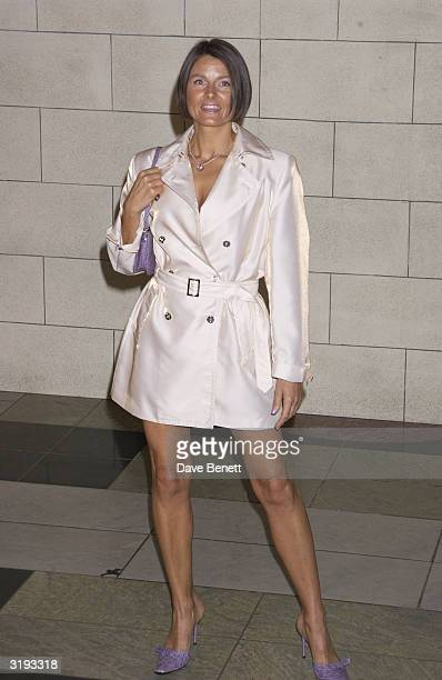 Karron Eubank wife of boxer Chris attends the launch of the Versace Retrospective Exhibition held at The Victoria and Albert Museum on 14th October...