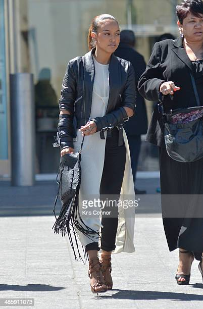 Karrueche leaves the H Carl Moultrie 1 Courthouse after it was announced the start of Chris Brown's assault trial is to be pushed back to Wednesday...