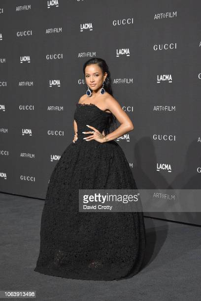 Karrueche Tran attends LACMA Art Film Gala 2018 at Los Angeles County Museum of Art on November 3 2018 in Los Angeles CA