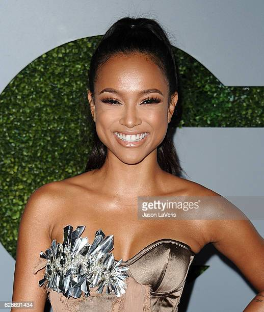 Karrueche Tran attends the GQ Men of the Year party at Chateau Marmont on December 8, 2016 in Los Angeles, California.