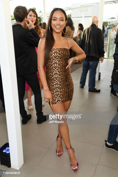 Karrueche Tran attends the Warner Media Entertainment TCA Party on July 24 2019 in Beverly Hills California