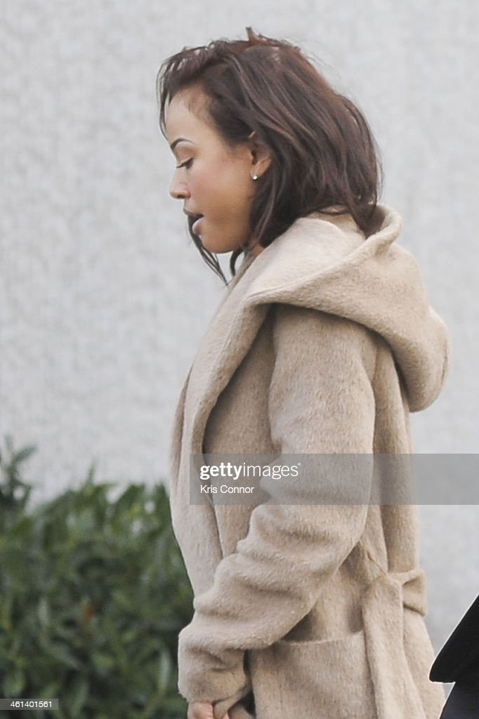Karrueche Tran, Chris Brown's girlfriend, leaves court where Brown's attorneys rejected a plea deal that would have found him and his bodyguard guilty of simple assault on January 8, 2014 in Washington, DC. Brown faces a misdemeanor assault charge for allegedly punching a man in the face in October 2013.