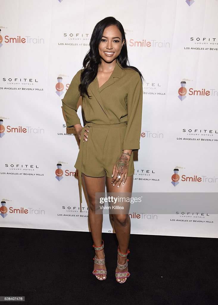 Karrueche Tran And Quincy Brown Host Smile Train YLC Los Angeles Benefit At Sofitel Beverly Hills