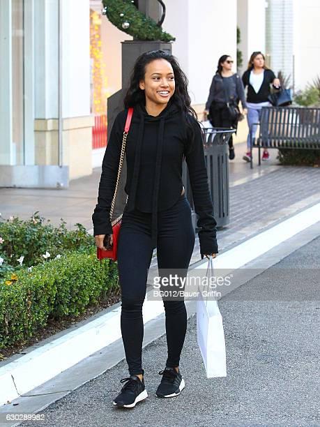 Karrueche Tran is seen on December 19 2016 in Los Angeles California