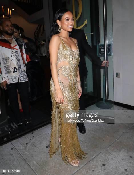 Karrueche Tran is seen on December 22 2018 in Los Angeles CA