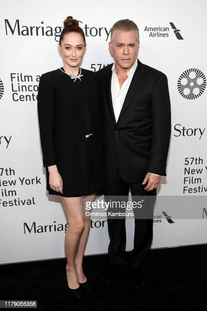 Karsen Liotta and Ray Liotta attend the Marriage Story premiere at 57th New York Film Festival on October 04 2019 in New York City