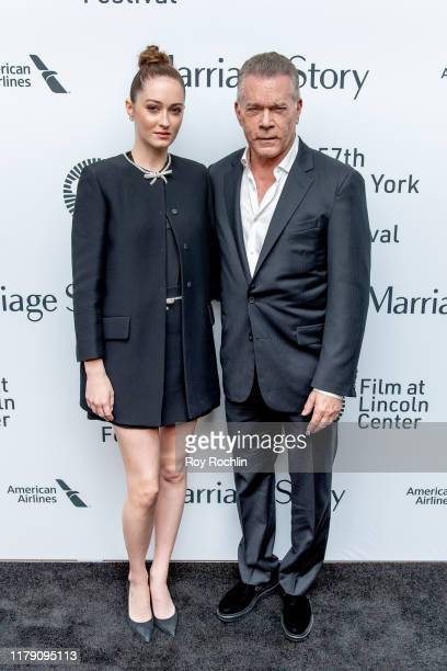 Karsen Liotta and Ray Liotta attend the Marriage Story premiere at the 57th New York Film Festival on October 04 2019 in New York City