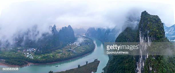 Karst Mountains in China