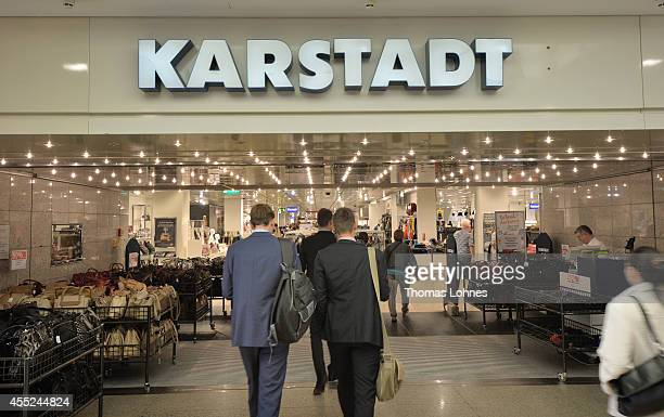 Karstadt chain store pictured on September 11 2014 in Darmstadt Germany Rene Benko head of Signa Holding and the biggest investor in troubled German...