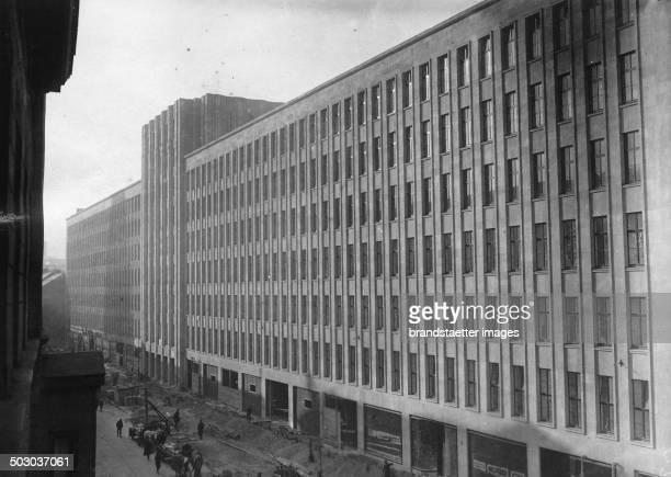 Karstadt department store in the Königstraße in Berlin 21th November 1931 Photograph