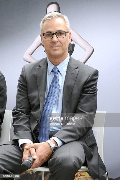 Karsten Aufgebauer attends the DHL Fashion Industry Panel during Mercedes-Benz Fashion Week Spring 2015 at Lincoln Center for the Performing Arts on...