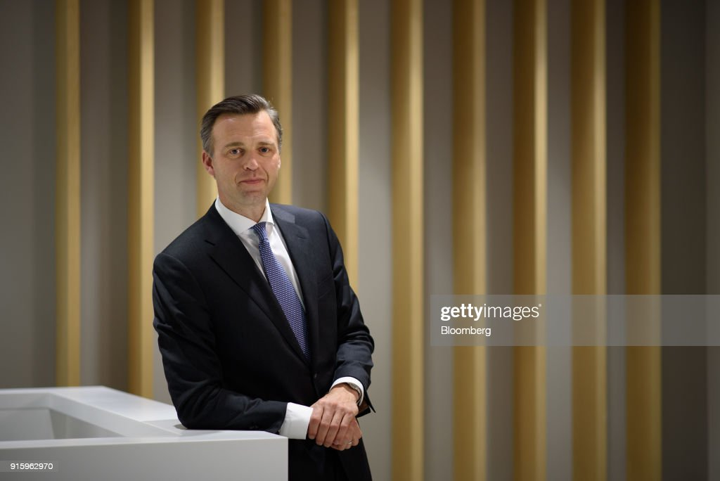 Karsten Kallevig, chief executive officer of Norges Bank Investment Management, poses for a photograph in Tokyo, Japan, on Wednesday, Feb. 7, 2018. The property-investment arm of Norway's $1 trillion sovereign wealth fund is keen to buy more real estate in Japan after making its first investment in the country last year. Photographer: Akio Kon/Bloomberg via Getty Images