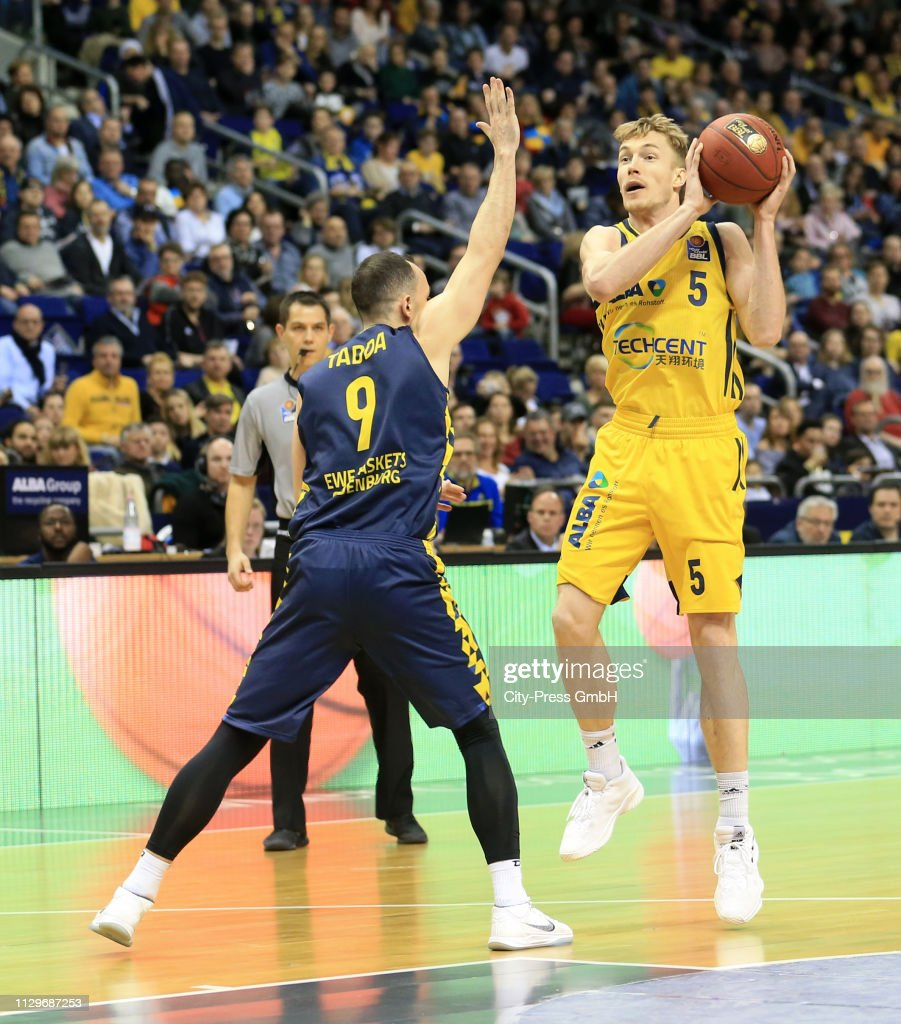 Karsten Tadda Of The Ewe Baskets Oldenburg And Niels Giffey