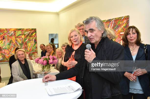 Karsten Temme during 'Maximilian Seitz EinwicklungenImpressionismusFest im Orient' Exhibition Opening at Susanne Wiebe Fashion Store on May 11 2017...