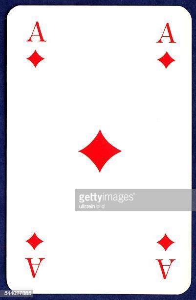 Spielkarten Karo