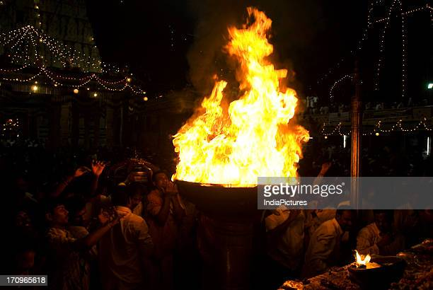 Karthigai Deepam Festival celebrated in the Tamil Month of Karthigai begins on Uttradam day with flag hoisting and goes on for nine days...