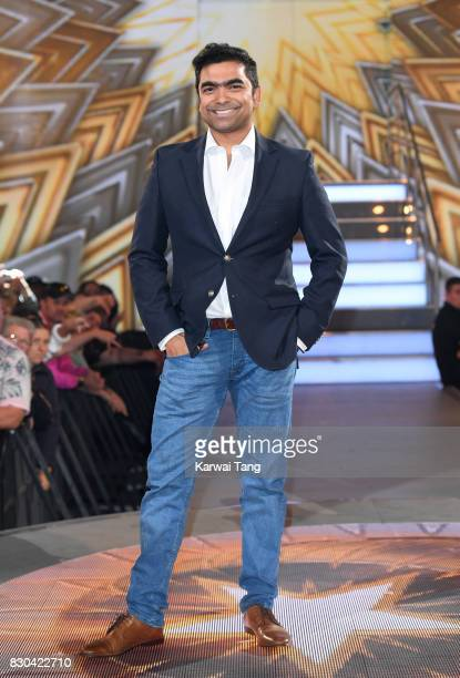 Karthik Nagesan is evicted from the Celebrity Big Brother House at Elstree Studios on August 11, 2017 in Borehamwood, England.