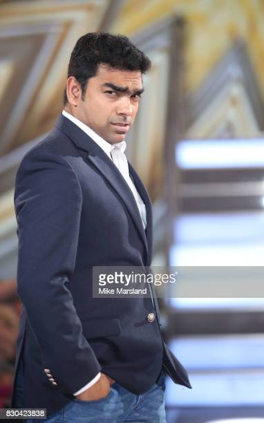 Karthik Nagesan is evicted from the Celebrity Big Brother House at Elstree Studios on August 11 2017 in Borehamwood England
