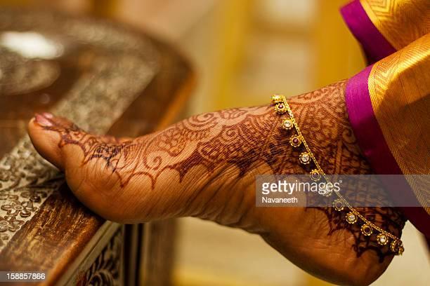 karthik - shankari - indian female feet stock pictures, royalty-free photos & images