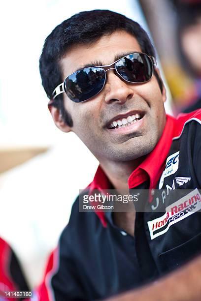 Karun Chandhok of India driver of the JRM HPD ARX 03a Honda during the 2012 World Endurance Championship 12 Hours Of Sebring at Sebring International...