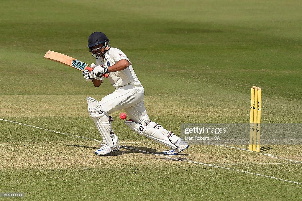 Australia A v India A : News Photo