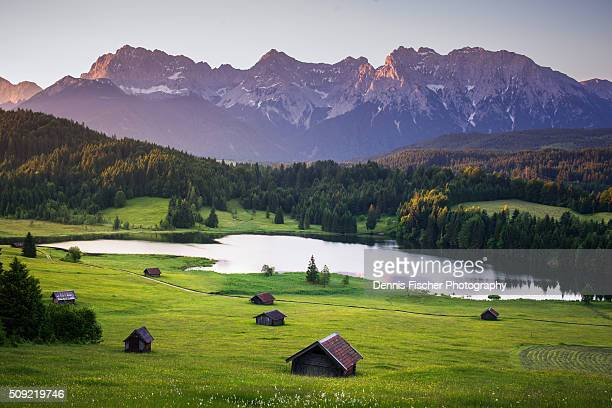 Karwendel before sunrise