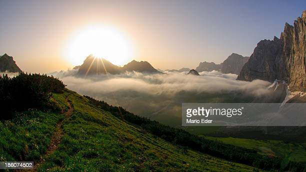 karwendel_sunrise