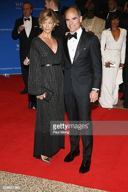 Karyn Kelly and Michael Kelly attend the 102nd White House Correspondents' Association Dinner on April 30 2016 in Washington DC