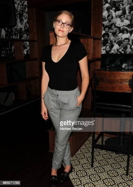 Karynn Moore attends The Water Of Life Indiegogo Launch Party And Whisky Tasting at No More Heroes Cocktail Bar on June 26 2018 in West Hollywood...