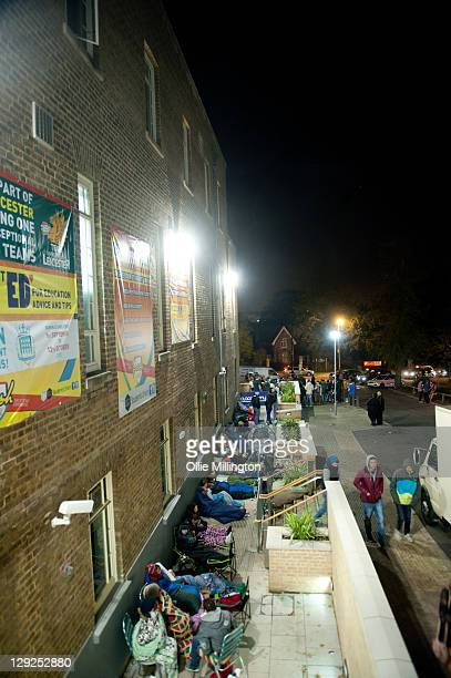 Kasabian fans waiting through the night for 9am ticket sales for the bands pre world tour homecoming gig on October 26th while DJ Yoda performs on...