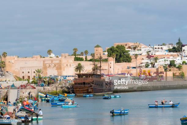 カスバ デ oudais、ラバト、モロッコ - ラバト ストックフォトと画像
