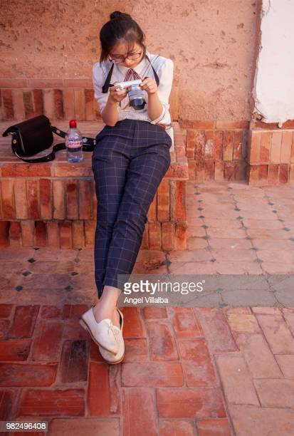 kasbah of taourirt - kasbah of taourirt stock pictures, royalty-free photos & images