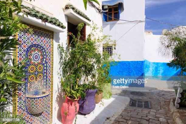 kasbah of the udayas - rabat morocco stock pictures, royalty-free photos & images