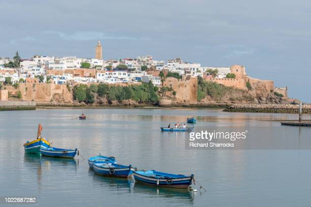 kasbah of the udayas, rabat, morocco - rabat morocco stock pictures, royalty-free photos & images
