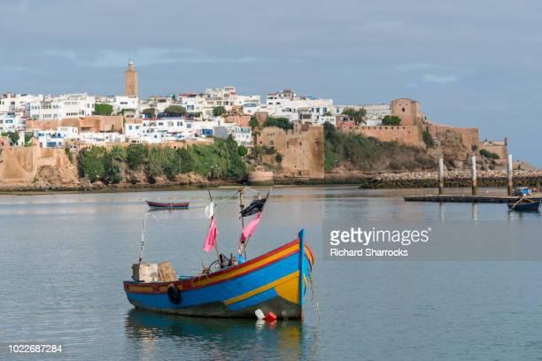 kasbah of the udayas, rabat, morocco - rabat maroc photos et images de collection