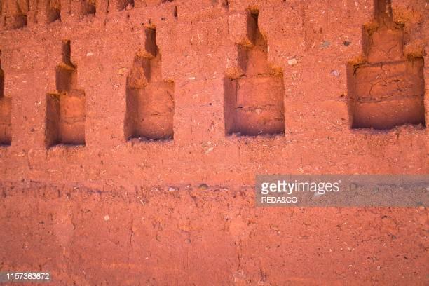 Kasbah. Telouet. Morocco. North Africa.
