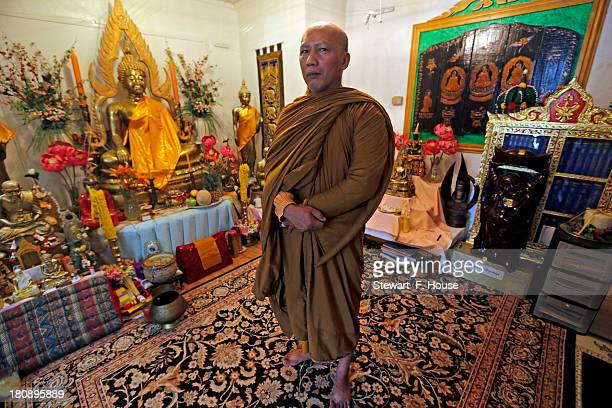 Kasem Pundisto a Buddhist monk at the Wat Busayadhammavanaram Meditation Center of Fort Worth where at one time alleged Naval Yard shooter Aaron...