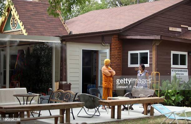 Kasem Pundisto a Buddhist monk at the Wat Busayadhammavanaram Meditation Center of Fort Worth where at one time alleged Naval Yard shooter Aaron...