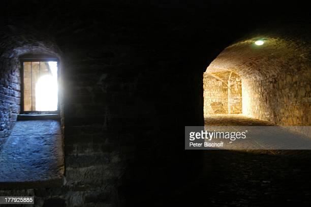 Kasematten Burg 'Hohenzollern' Bisingen BadenWürrtemberg Deutschland Europa Denkmal Sehenswürdigkeit touristische Attraktion Architektur Neugotik...