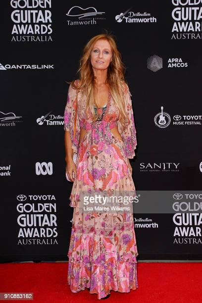 Kasey Chambers arrives at the 2018 Toyota Golden Guitar Awards on January 27 2018 in Tamworth Australia