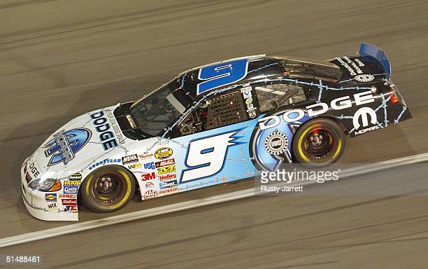 Kasey Kahne driver of the Evernham Motorsports Dodge during the NASCAR Nextel Cup Series UAWGM Quality 500 on October 16 2004 at Lowes Motor Speedway...