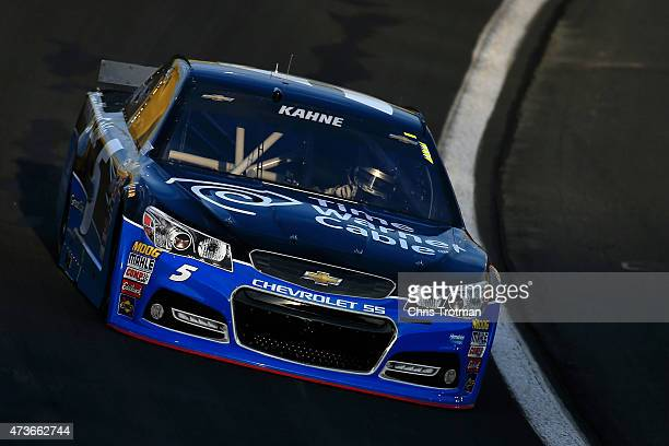 Kasey Kahne drives the Time Warner Cable Chevrolet during qualifying for the NASCAR Sprint Cup Series Sprint AllStar Race at Charlotte Motor Speedway...