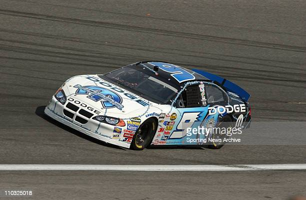 NASCAR Kasey Kahne during practice for the Nextel cup UAWGM Quality 500 at Lowe's Motor Speedway in Concord NC on Oct 14 2004