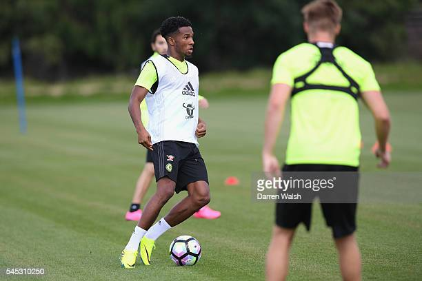 Kasey Palmer at Chelsea Training Ground on July 6 2016 in Cobham England