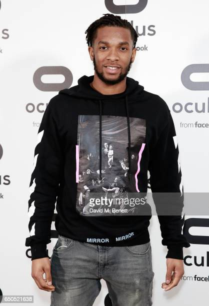 Kasey Palmer attends the Oculus Game Days VIP opening night hosted by the Facebook owned virtual reality company Oculus on March 9 2017 in London...