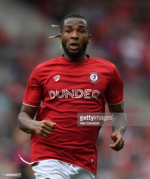 Kasey Palmer of Bristol City during the Sky Bet Championship match between Bristol City and Leeds United at Ashton Gate on August 04, 2019 in...
