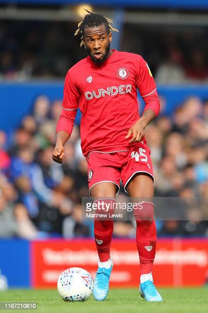 Kasey Palmer of Bristol City in action during the Sky Bet Championship match between Birmingham City and Bristol City at St Andrew's Trillion Trophy...