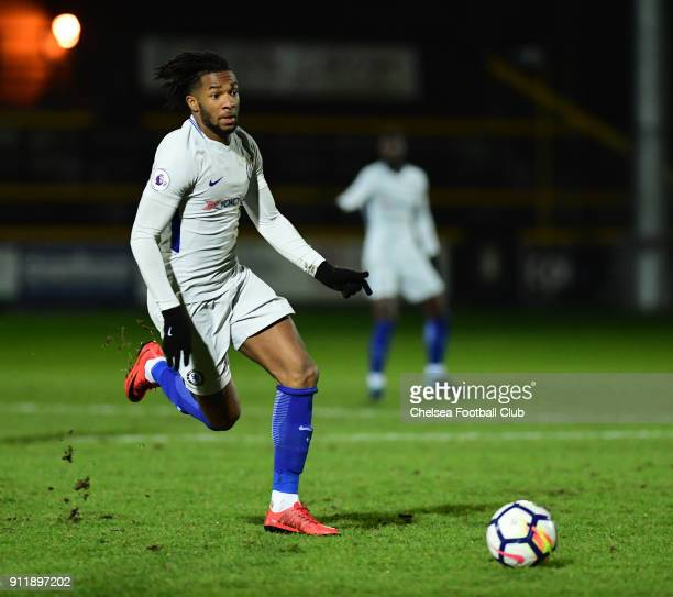 Kasey Palmer of Chelsea during the Premier League 2 match between Everton U23 and Chelsea U23 at the Merseyrail Community Stadium on January 29 2018...