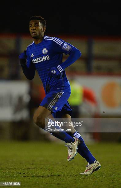 Kasey Palmer of Chelsea during the Round of 16 in the UEFA Youth League match between Chelsea Fc and FC Zenit at the ESS Stadium on February 25 2015...